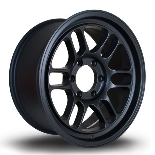 356 Wheels TFS-4X4 18x8.5 ET10 6x139 Flat Black